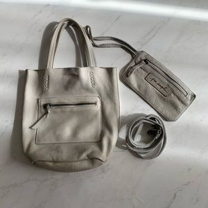 Free People: mini bucket bag